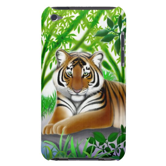 Peaceful Tiger iPod Touch Barely There Case