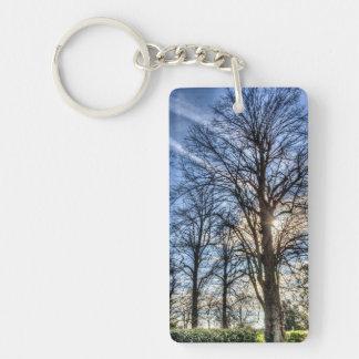 Peaceful Tree Keychain