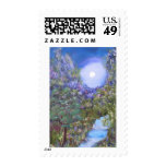 Peaceful Trees Postage Stamps