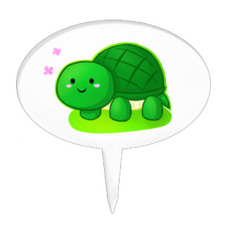 Peaceful Turtle Cake Topper