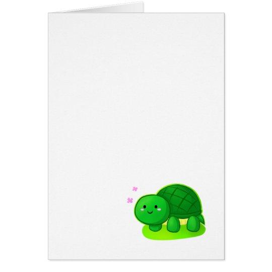 Peaceful Turtle Card
