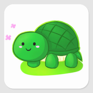 Peaceful Turtle Stickers
