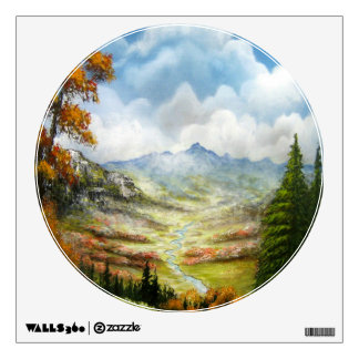 Peaceful Valley Wall Decal