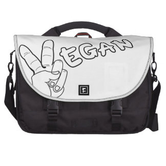 Peaceful Vegan Commuter Bag