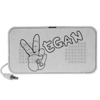Peaceful Vegan iPhone Speaker