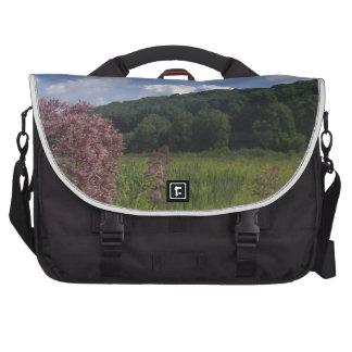 Peaceful Visual Computer Bag