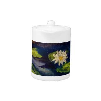 Peaceful Water Lillies Teapot