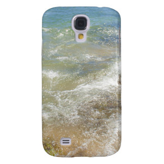 Peaceful Waves Abstract Water Photography Samsung S4 Case