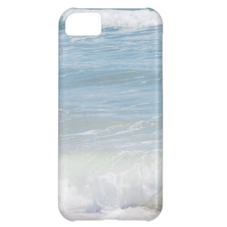 Peaceful Waves Blue Sea Beach Photography Cover For iPhone 5C