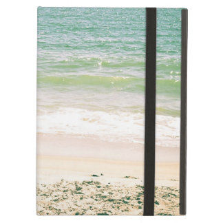 Peaceful Waves Pastel Beach Photography iPad Cover
