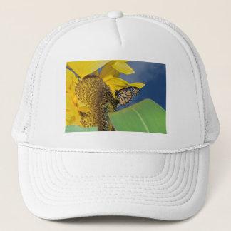 peaceful wings trucker hat