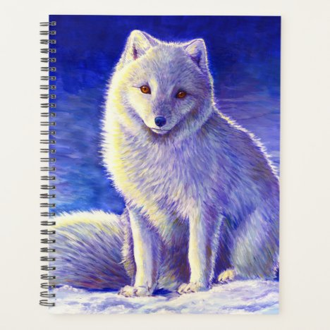 Peaceful Winter Arctic Fox Planner
