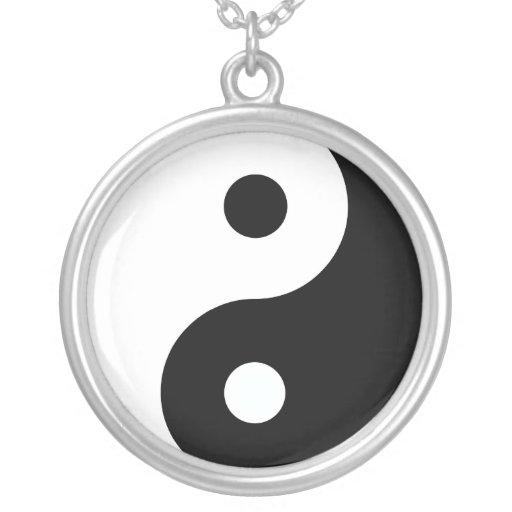 Peaceful Yin Yang Custom Necklace