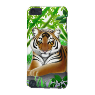 Peaceful Young Bengal Tiger iPod Touch Case