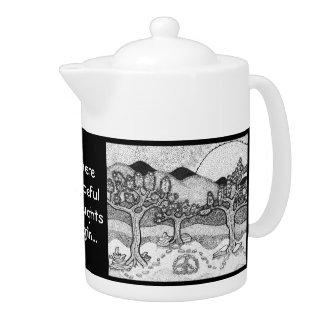 Peaceful Zen Teapot