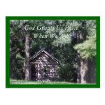 PeacefulEncouragingCard-customize Postcards