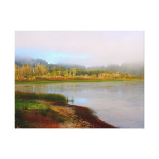 Peacefull Bay Canvas Print