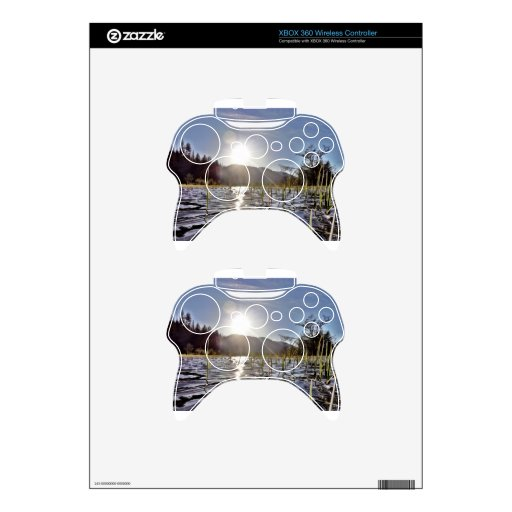 Peacefull Waters in Trout Lake Xbox 360 Controller Decal
