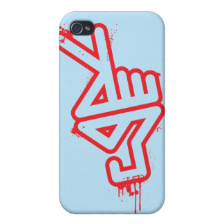 PeaceHand iPhone4 Case - blue Case For iPhone 4