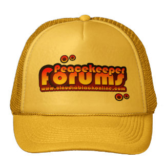 Peacekeeper forums hat