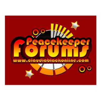 Peacekeeper forums postcard 02