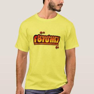 Peacekeeper forums yellow t-shirt