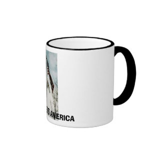 PEACEKEEPERS HOME, GOD BLESS AMERICA COFFEE MUG