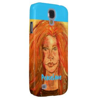 PeaceLove art Galaxy S4 Case