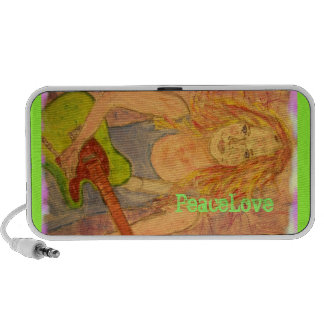 PeaceLove music girl Mini Speaker