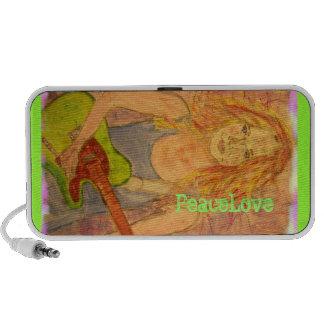 PeaceLove music girl Speaker System