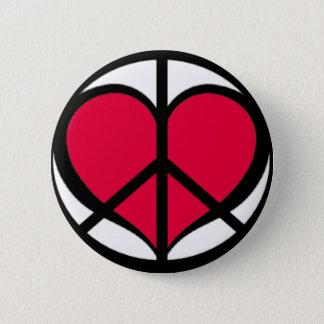 PeaceLove Pinback Button