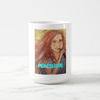 PeaceLove Rocker Girl Coffee Mug