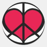 PeaceLove Sticker