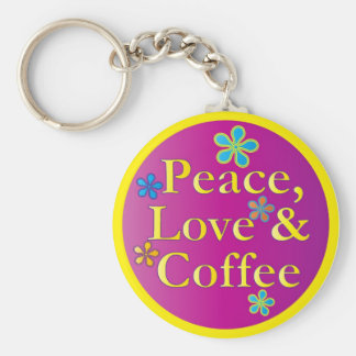 peacelovecoffee_button keychain