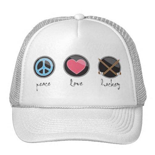 Peacelovehockey Hats