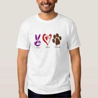 PeaceLoveRescue T-Shirt