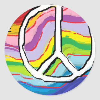 peacelovert.png pegatina redonda