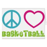 PEACELOVEsymbols-basketball. Tarjetas
