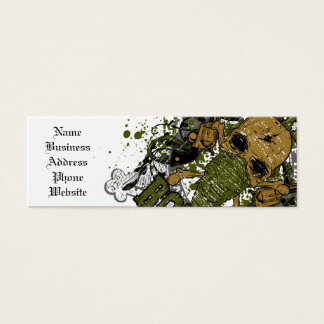peacemaker falls asleep on the silver star mini business card
