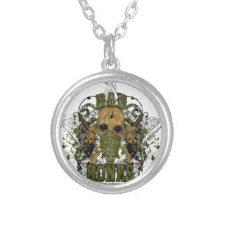 peacemaker falls asleep on the silver star round pendant necklace