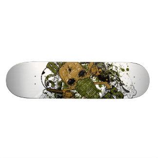 peacemaker falls asleep on the silver star skateboard