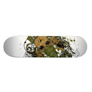 peacemaker falls asleep on the silver star skateboard deck