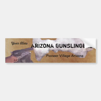 Peacemaker & Gunsmoke Bumpersticker Bumper Sticker