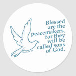 Peacemakers Classic Round Sticker