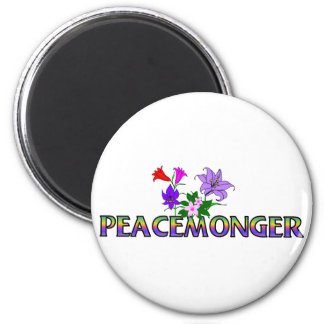 Peacemonger 2 Inch Round Magnet