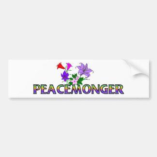 Peacemonger Pegatina De Parachoque