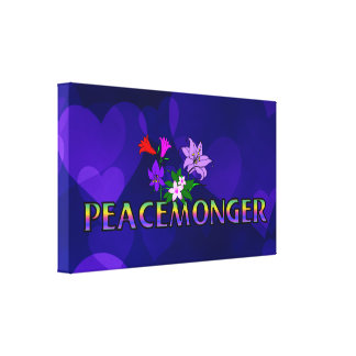 Peacemonger Lona Estirada Galerias