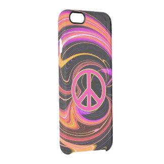 PeaceNebula Clear iPhone 6/6S Case