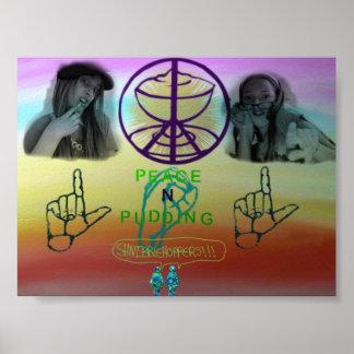 peaceNpudding Poster
