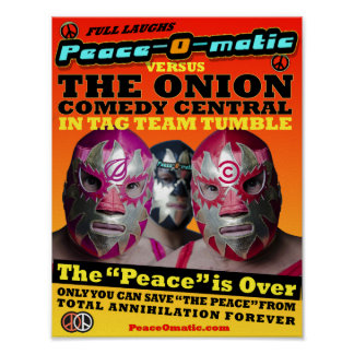 PeaceOmatic MATCH POSTER